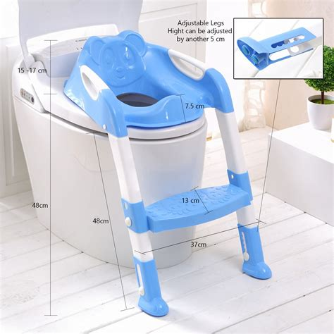 Seat Toilet Trainer baby toddler toilet potty seat 2 step ladder