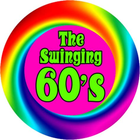 the swinging 60s 60 s the swinging 60 s round aprons accessories gifts