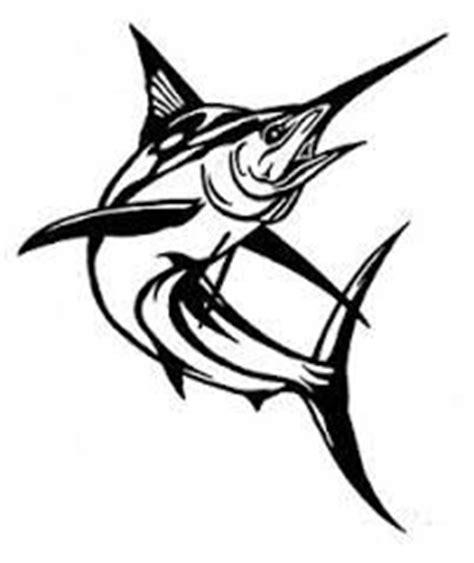 Lc919 Tato Temporer Sticker Joker marlin tribal fishing sticker decals stickers and fishing