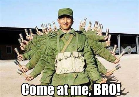 Where Memes Come From - thousand hand soldier come at me bro know your meme