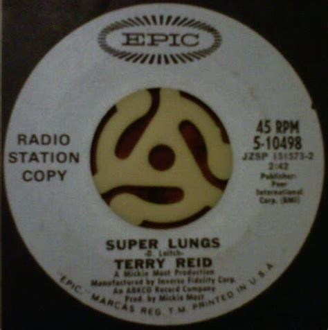 groovy rotations: super lungs terry reid