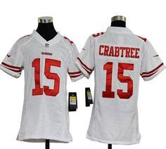 youth white michael crabtree 15 jersey spot p 552 1000 images about san francisco 49ers jersey on