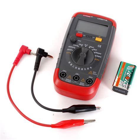 ua6013l auto range digital capacitor capacitance tester meter with box nuevo lazada malaysia