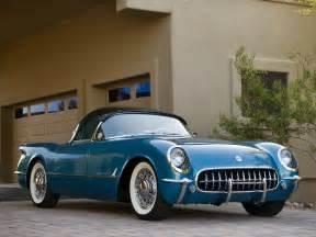 vintage corvette blue 1954 chevrolet corvette vehicles cars chevy retro old