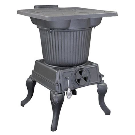 Cast Iron Wood Stove Vogelzang Cast Iron Rancher Wood Stove With Large Flare