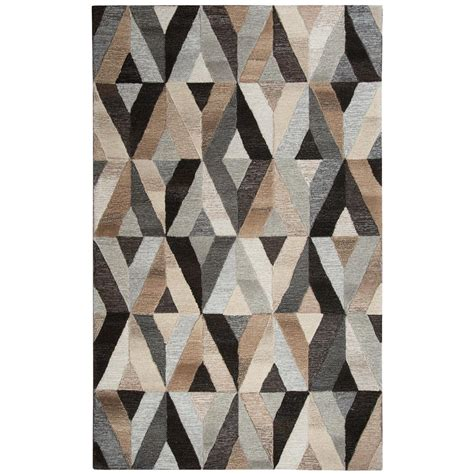 10 X 13 Multicolor Area Rugs - rizzy home suffolk multicolor geometric 10 ft x 13 ft