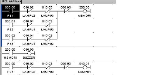 Bel Kuis dr lhong membuat program bel kuis dengan plc