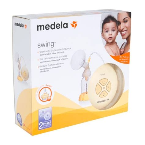 tiralatte medela swing swing single electric breast medela