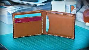how to make a basic leather wallet new