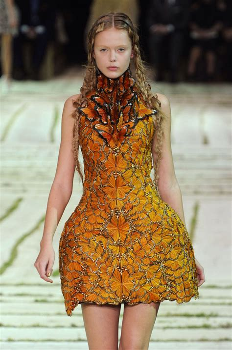 Mcqueen Butterfly Gown by Mcqueen Butterfly Collection Fashion