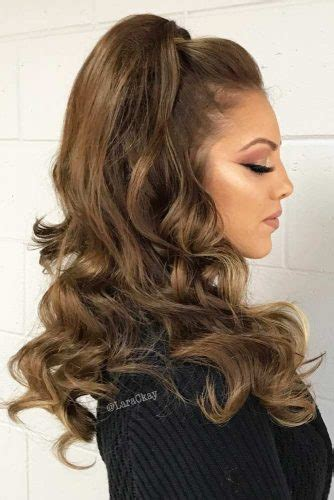 try 42 half up half prom hairstyles lovehairstyles