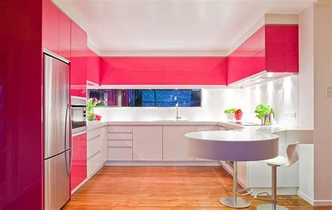pink white kitchen pink inspiration decorating your home with pink