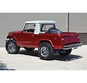 1969 Jeepster Commando Pickup With Two Tone Metallic Paint