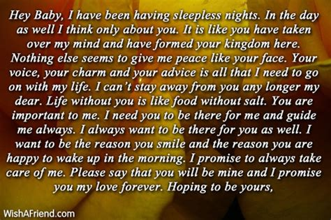 How I Feel About You Letters For Him