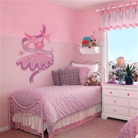dance themed bedroom ballet room theme off the wall