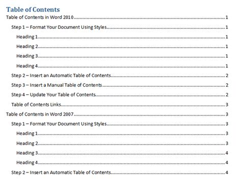 research paper table of contents table of contents outline template beautiful template