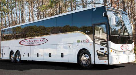 couch bus atlanta coach bus rental atlantic limousine transportation