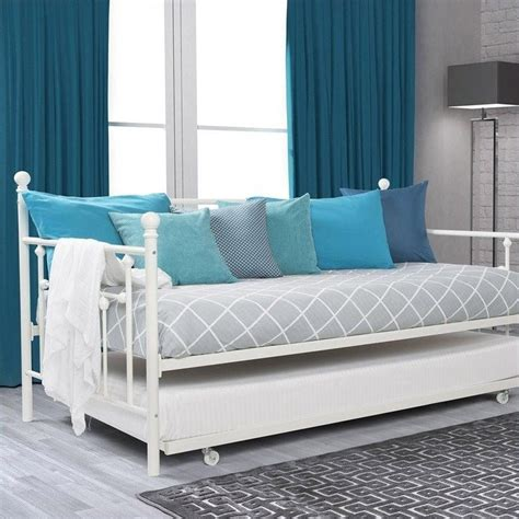 White Metal Daybed White Metal Daybed With Trundle Metal Day Bed Black Ivory White Daybeds Daybed And Trundle