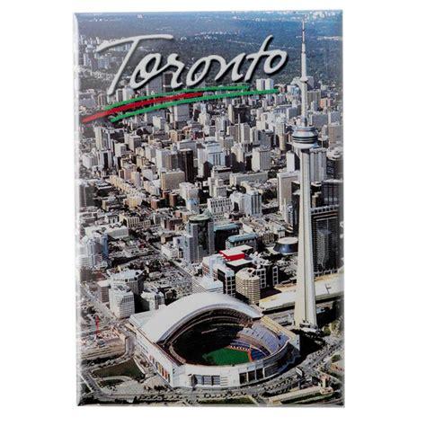 Souvenir Negara Canada Tempelan Magnet Tower Toronto canada souvenirs gifts toronto cn tower and skyline photo magnet