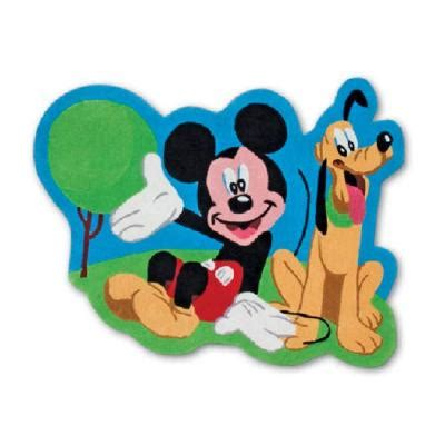 Disney Mickey Mouse Shaped Bath Rug - disney mickey club house shaped mickey and pluto 4 ft