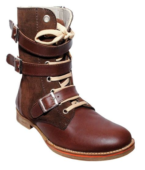 Sepatu Pichboy Boots 10 Brown Safety 4 de moda brown safety shoes price in india buy de moda brown safety shoes at snapdeal