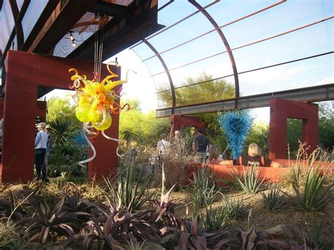 Botanical Gardens Scottsdale by The Nature Of Glass Chihuly Exhibit At Desert Botanical
