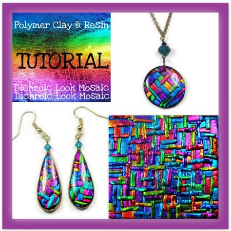 A Dichroic Look by Polymer Clay Tutorial Dichroic Look Mosaic Tutorial