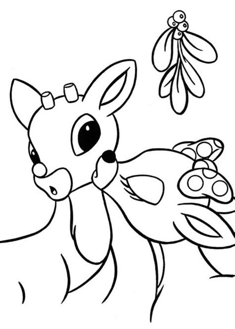 Rudolf Coloring Pages coloring pages rudolf az coloring pages