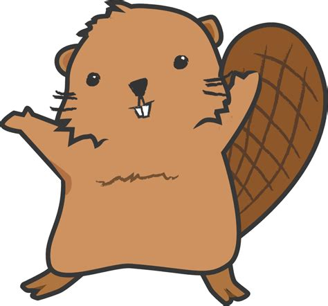 beaver clip beaver clipart transparent background pencil and in