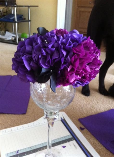diy tissue paper centerpiece tutorial included now