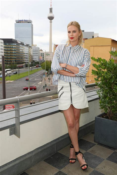 show  work charlize theron   cute