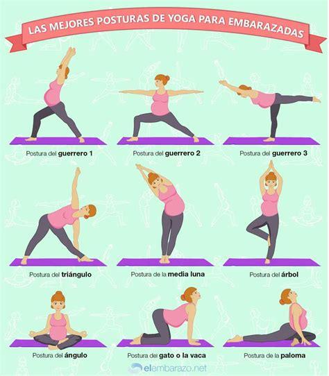 imagenes yoga posturas infograf 237 a las mejores posturas de yoga para embarazadas