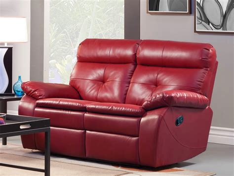 red couch and loveseat the best reclining sofa reviews red leather reclining