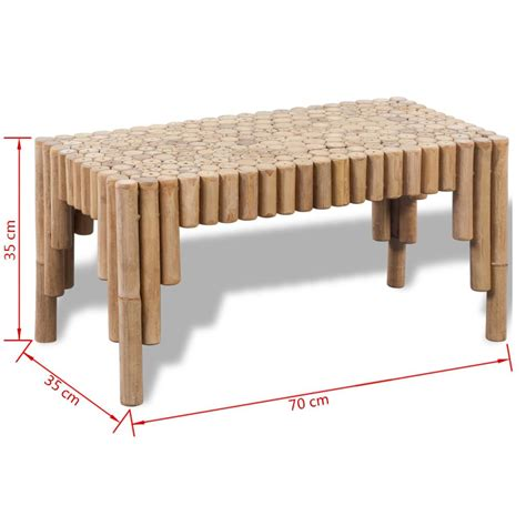 vidaxl co uk vidaxl coffee vidaxl co uk bamboo coffee table
