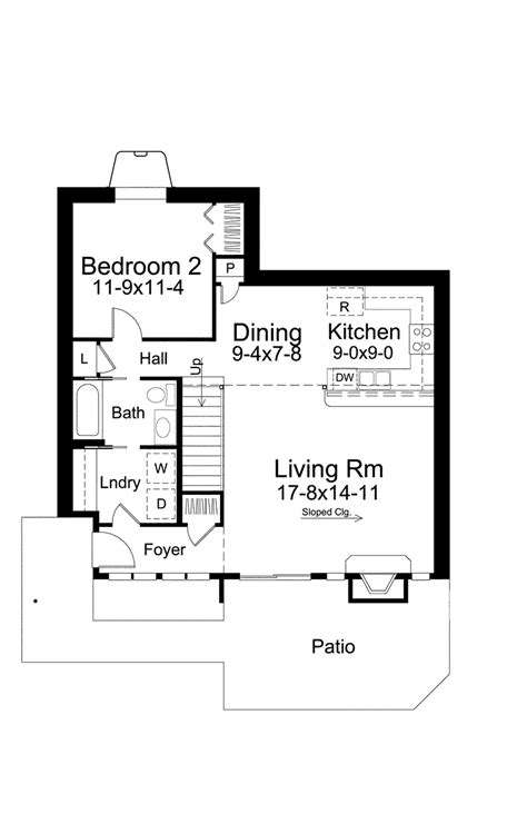 berm home floor plans eureka berm home plan 122d 0001 house plans and more
