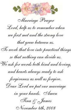 Wedding Blessing Poems Prayers by For Some One To Read Not Just Enough A Wedding