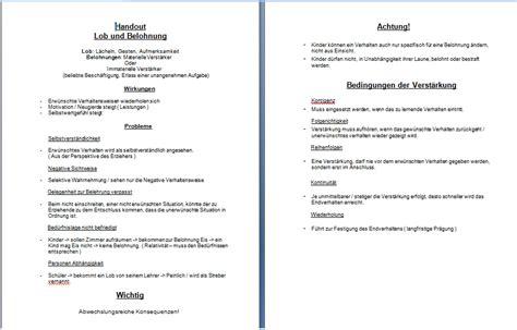 Vorlage Word Handout Handout Englisch Erstellen