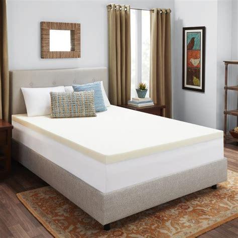 authentic comfort 3 memory foam mattress topper 3 memory foam mattress topper authentic comfort 174 target
