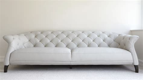 modern 3 seater leather chesterfield sofa uk