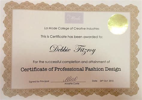 fashion design certificate nyc la mode college fashion design courses fashion courses