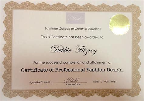 best certificate courses fashion design course dubai uae