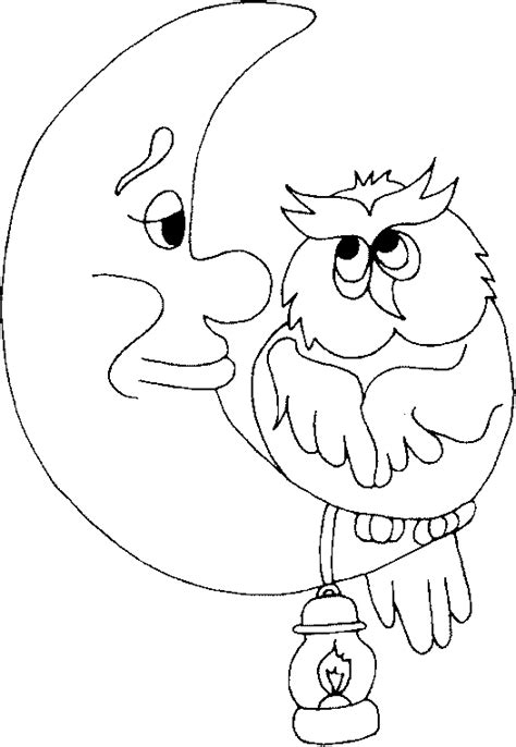 owl moon coloring page top printable manger nativity outline images for pinterest