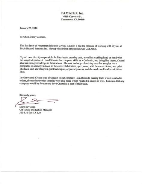 reference letter for an employee sample just letter templates