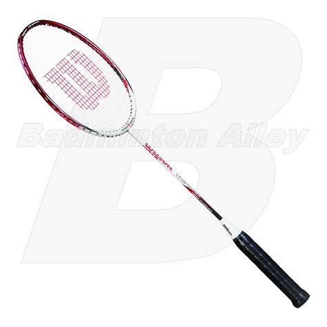 Raket Titanium Wilson Titanium Smash White Badminton Racket