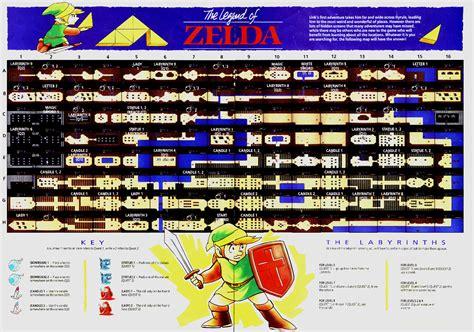 legend of zelda map nintendo power image nintendo power magazine v 1 loz map png the