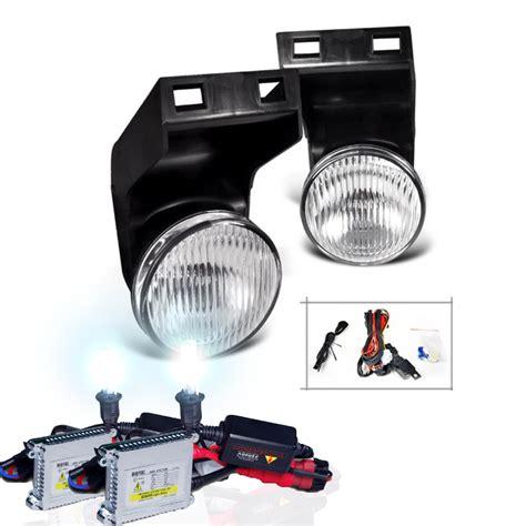 fog light kits for trucks hid xenon 94 01 dodge ram oem style fog lights