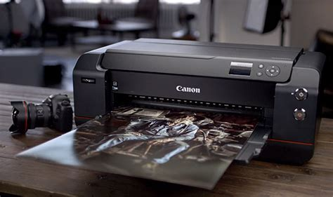 Printer Canon L200 canon s l lens ring spreads to printers with the imageprograf pro 1000