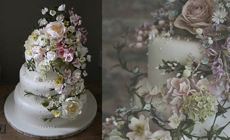 How To Make Sugar Roses For Cake Decorating by Sugar Flower Tutorials Cake Magazine Cake