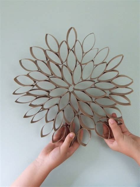 Paper Craft For Wall Decoration - olive observer fivethingsfriday toilet paper roll