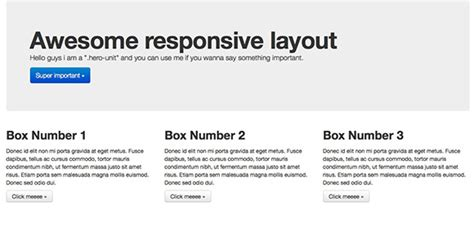 responsive layout twitter bootstrap how to use twitter bootstrap to create a responsive